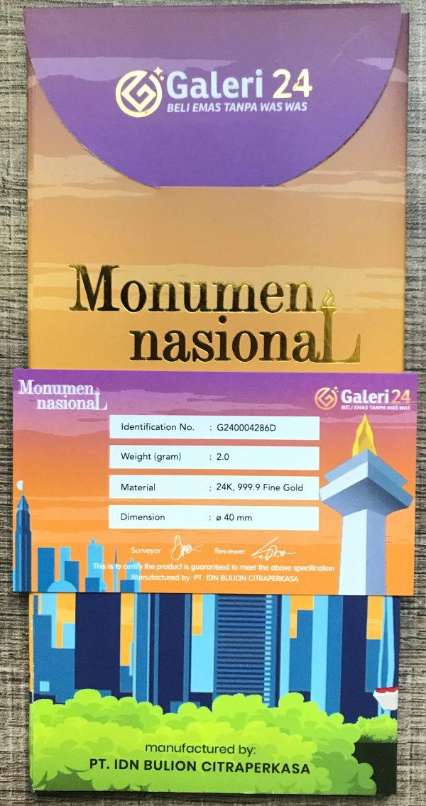 Monumen Nasional Belakang